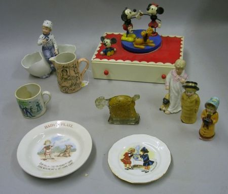 Group of Character Toys