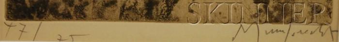 Walter Rudolf Mumprecht (Swiss, b. 1918)      Cavaliers.
