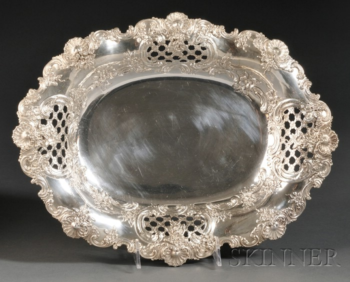 Tiffany & Co. Sterling Bread Tray
