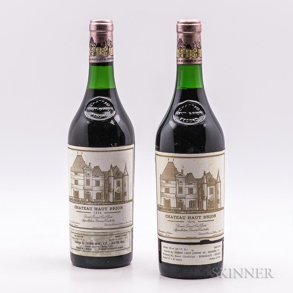 Chateau Haut Brion, 2 bottles