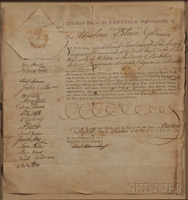 (Revolutionary War Notables, Massachusetts)