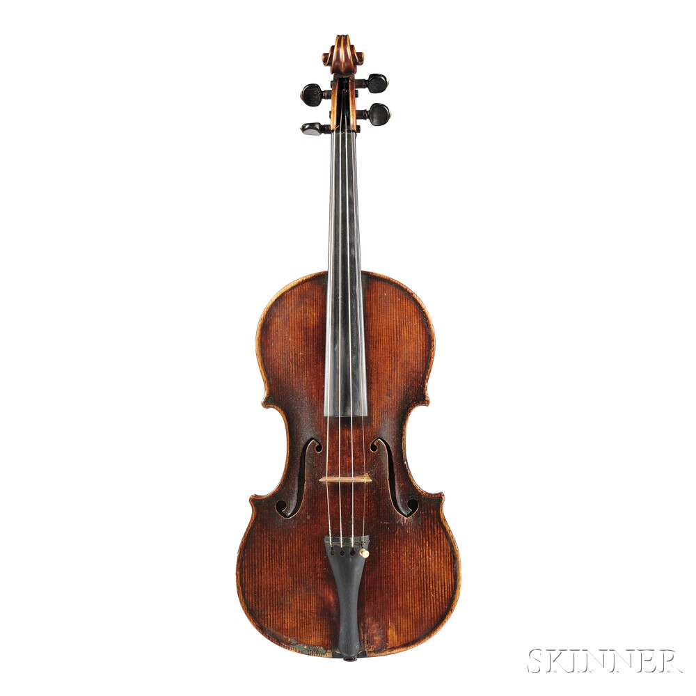 French Violin, Paul Kaul, Costabelle Hyeres, 1921