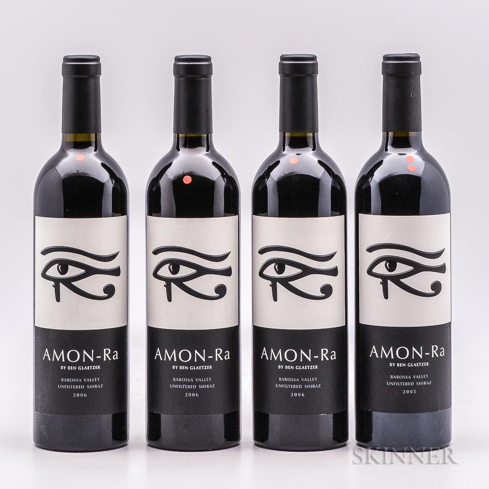Glaetzer Amon Ra, 4 bottles