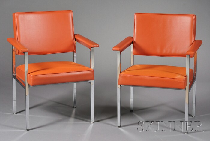 Pair of Steelcase Armchairs