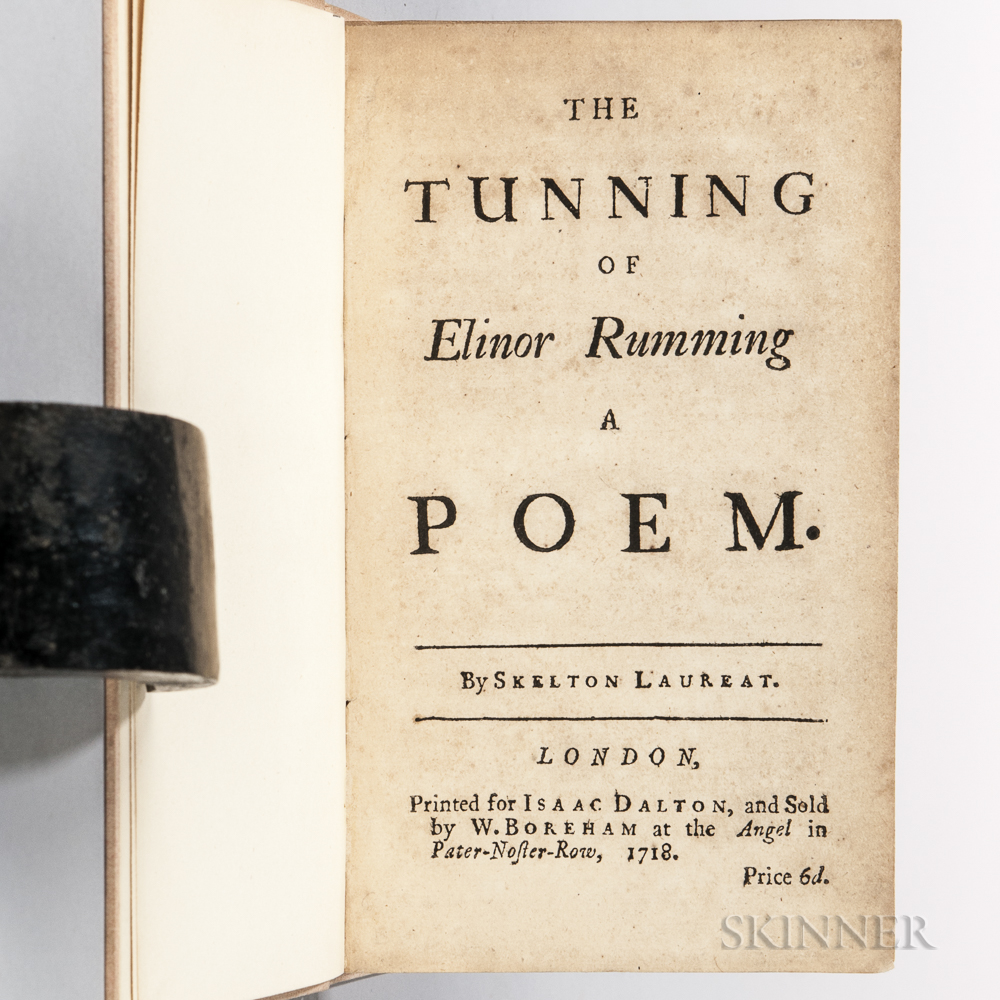 Skelton, John (1460?-1529) The Tunning of Elinor Rumming, a Poem.