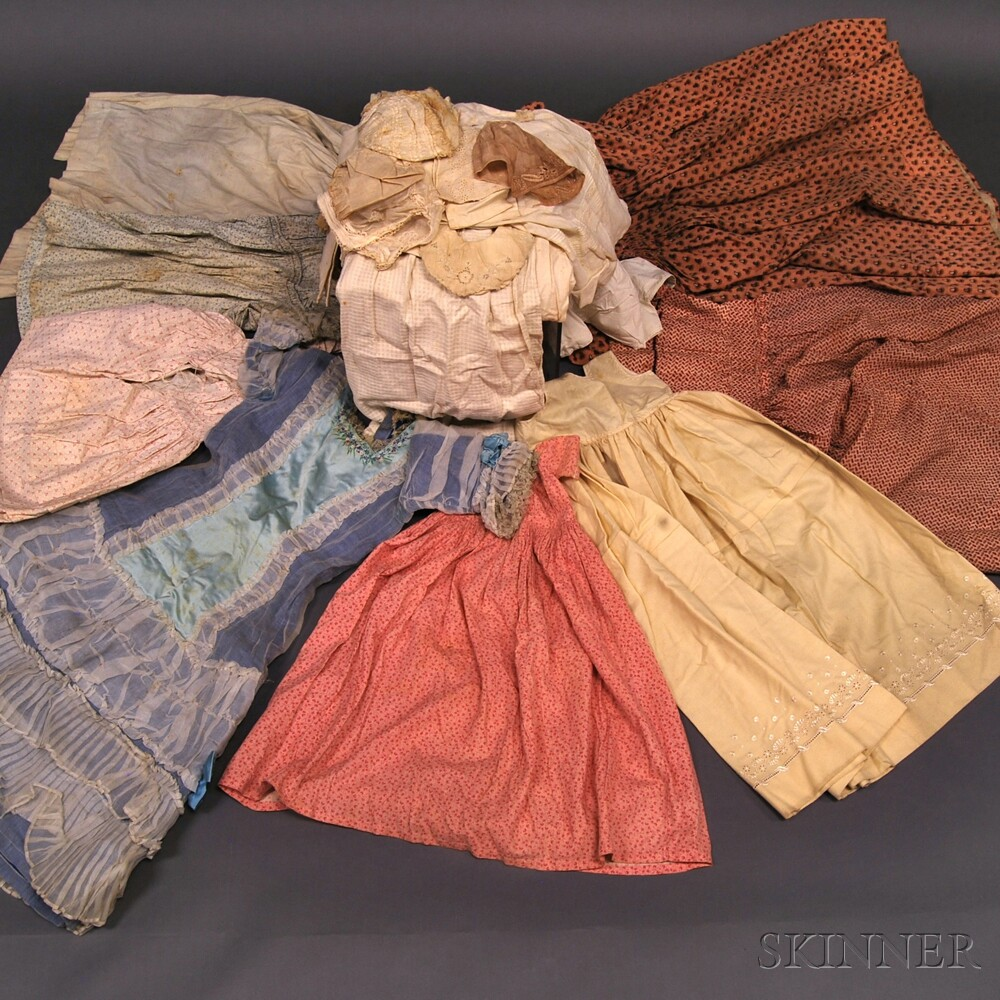 Collection Of Assorted Mostly Antique Clothing And