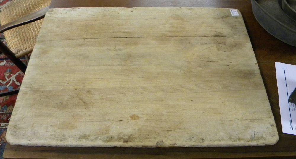Shaker Rectangular Pine Breadboard