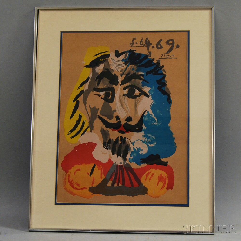 Reproduction After Pablo Picasso (Spanish, 1881-1973)