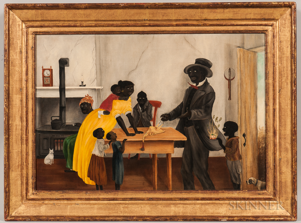 American School, Late 19th Century      Preparing for Dinner