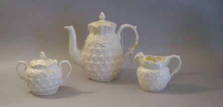 Three-piece Spode Ceramic Tea Set