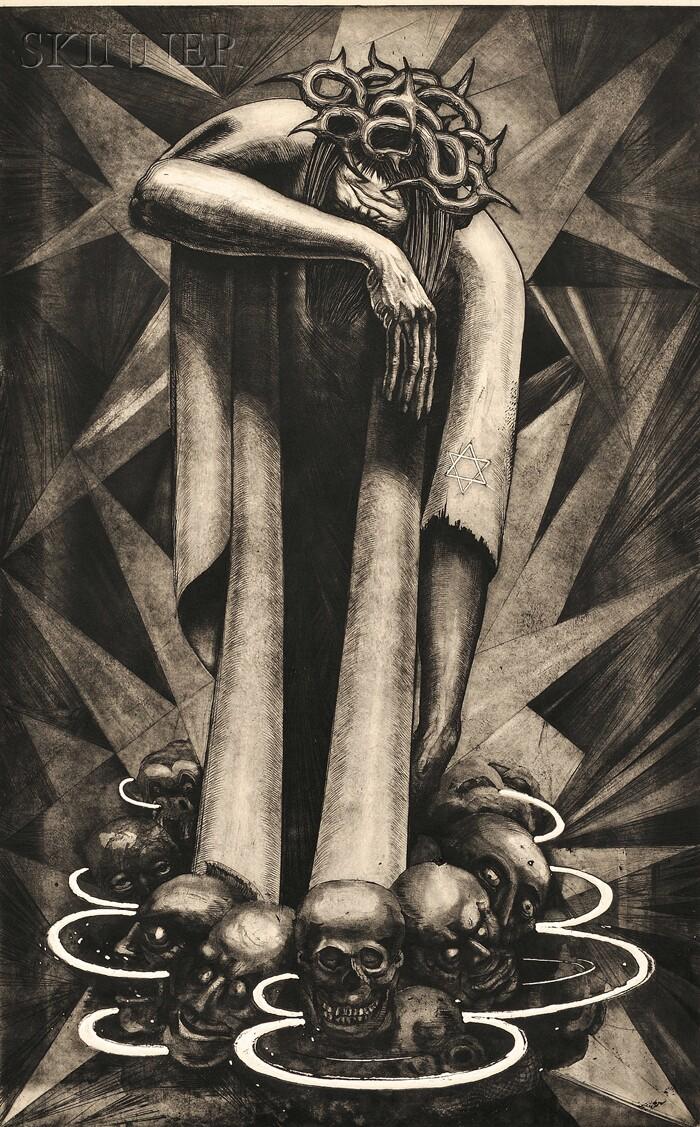 Leo Katz (Austrian/American, 1887-1982)      Year One A.B.