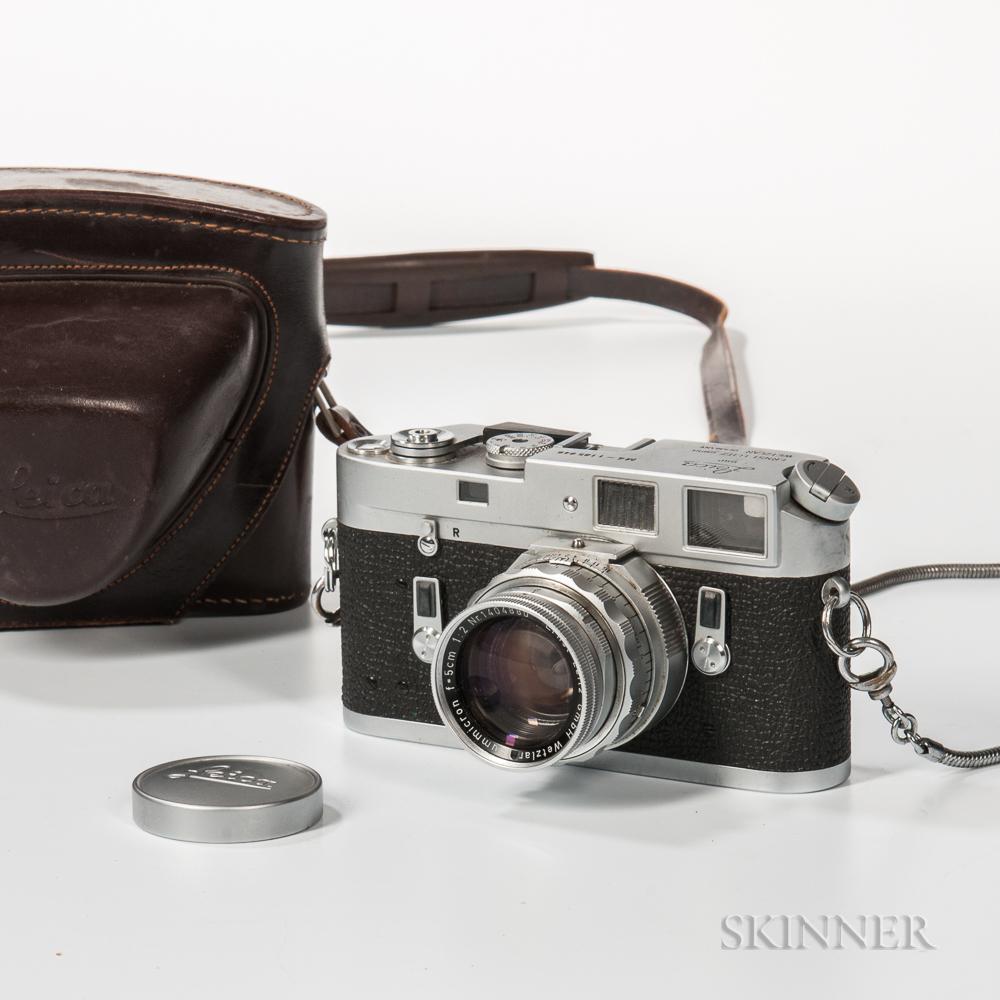 Leica M4 with 5cm Summicron Lens
