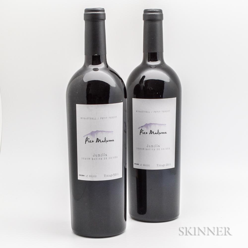 Bodegas y Vinedos de Murcia Pico Madama 2005, 2 bottles