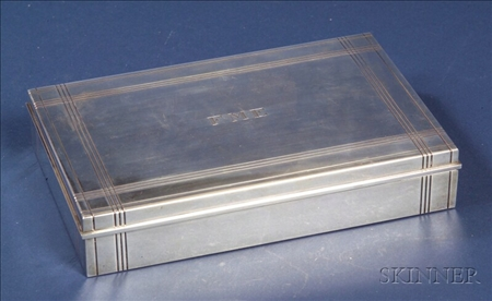 Tiffany & Co. Sterling Cigarette Box