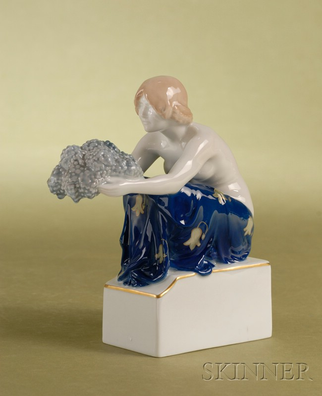 Two Rosenthal Art Deco Period Porcelain Figures