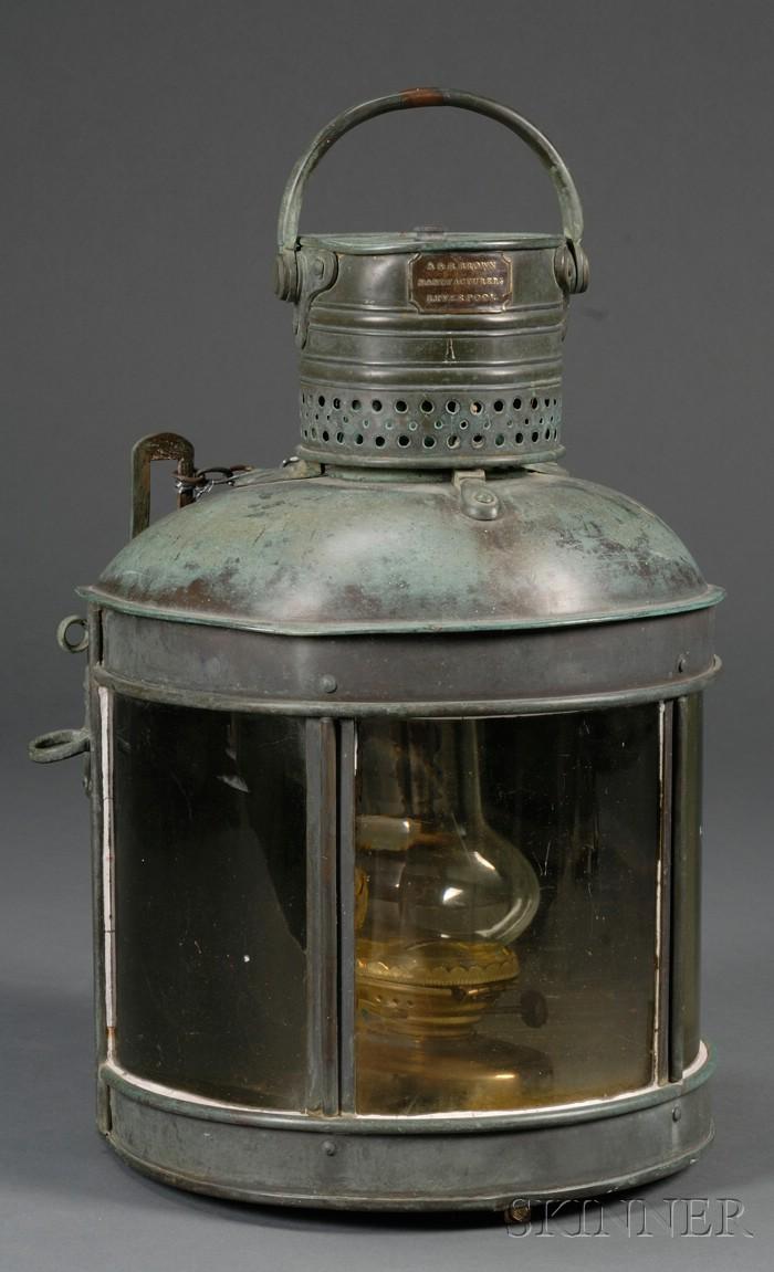 Copper Marine Lantern