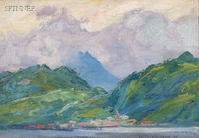 Charles Herbert Woodbury (American, 1864-1940)      Dominica