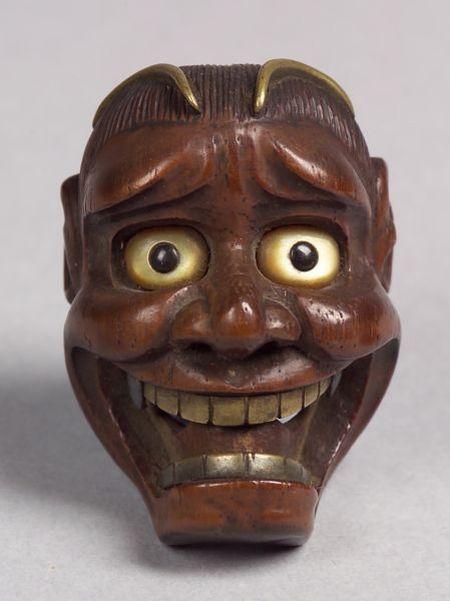 Wooden Netsuke