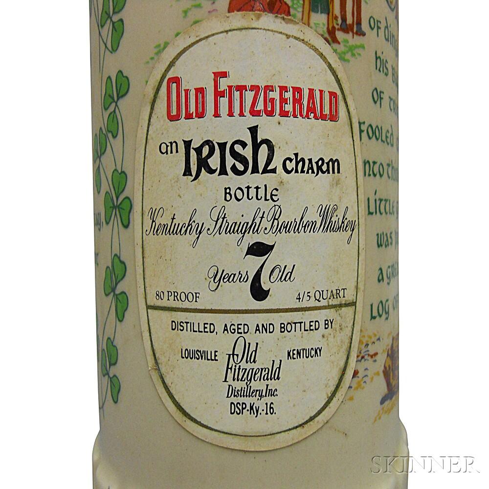 Old Fitzgerald Irish Charms, 6 4/5 quart bottles (oc)