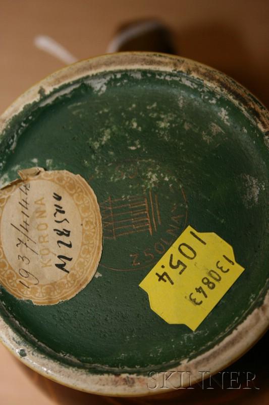 Zsolnay Iridescent Pottery Mug | Sale Number 2481, Lot