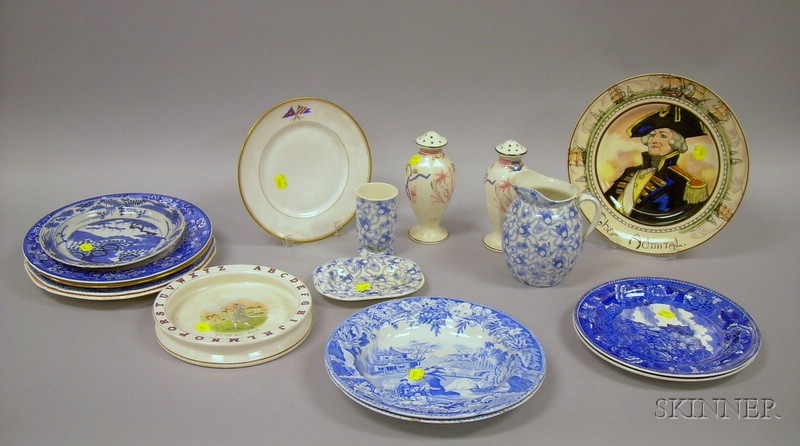 Group of China, Staffordshire, and Collectible Ware