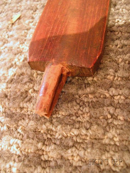 Plains Quilled Wood Pipe Stem