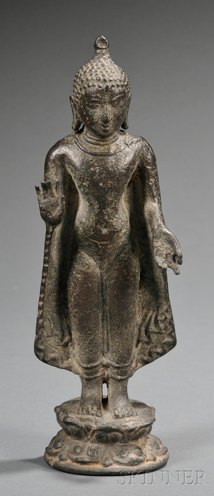 Standing Bronze Figure