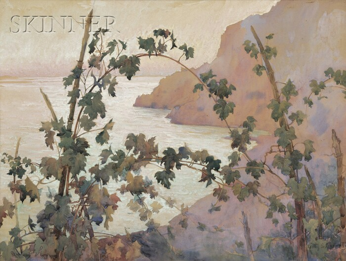 Lucy Scarborough Conant (American, 1867-1921)      From Anacap at Top of Steps