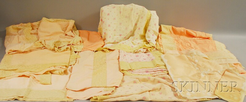 Group of Assorted Linens and Lace