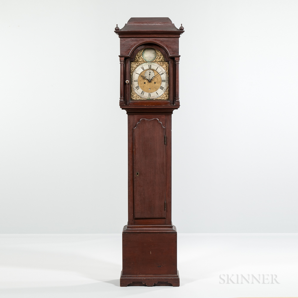 Gawen Brown Mahogany Tall Clock