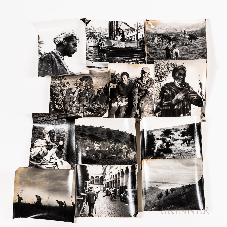 Group of Approximately Thirty-eight Greer & Throckmorton Algerian Revolution Photographs