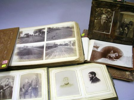 Four 19th and 20th Century Photo Albums