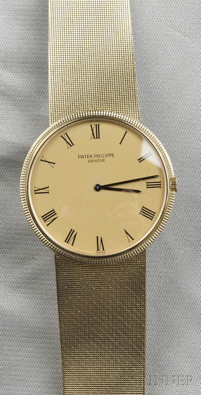18kt Gold Wristwatch, Patek Philippe