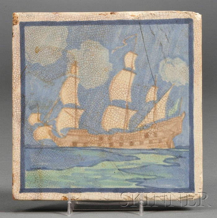Marblehead Pottery Tile