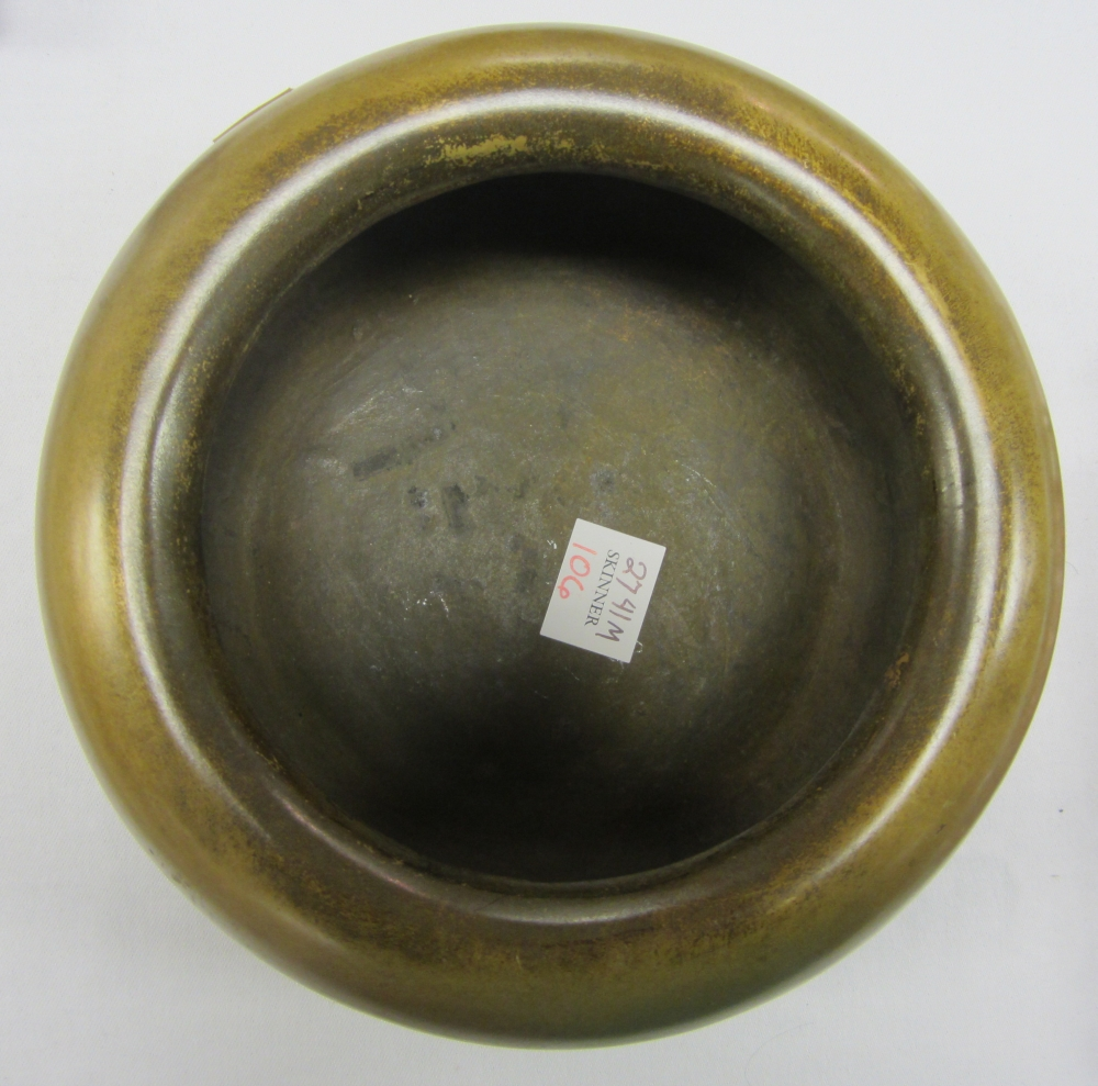 Gilt-bronze Censer