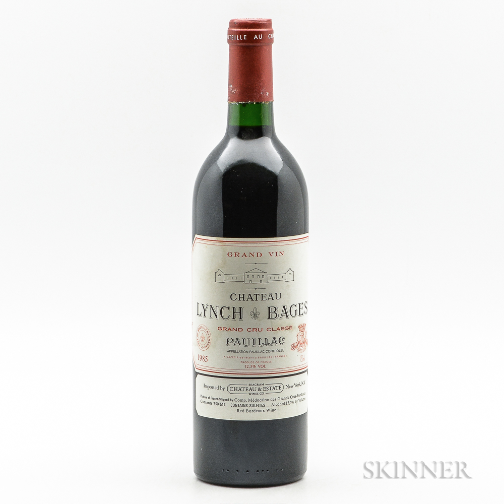 Chateau Lynch Bages 1985, 1 bottle