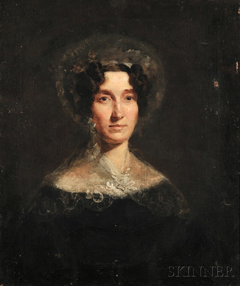 Continental School, 19th/20th Century      Bust-length Portrait of a Lady