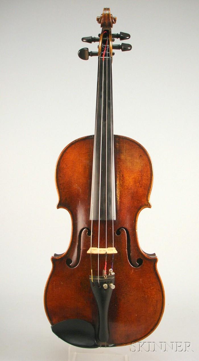 German Violin, c. 1850