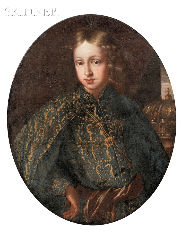 Austrian School, 17th/18th Century      Portrait of a Young Prince