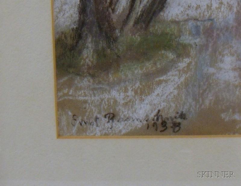 Three Framed Landscape Views