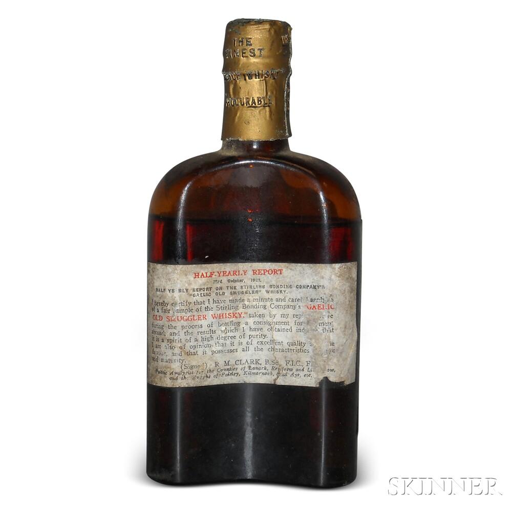 Old Smuggler The Gaelic Whisky, 1 bottle