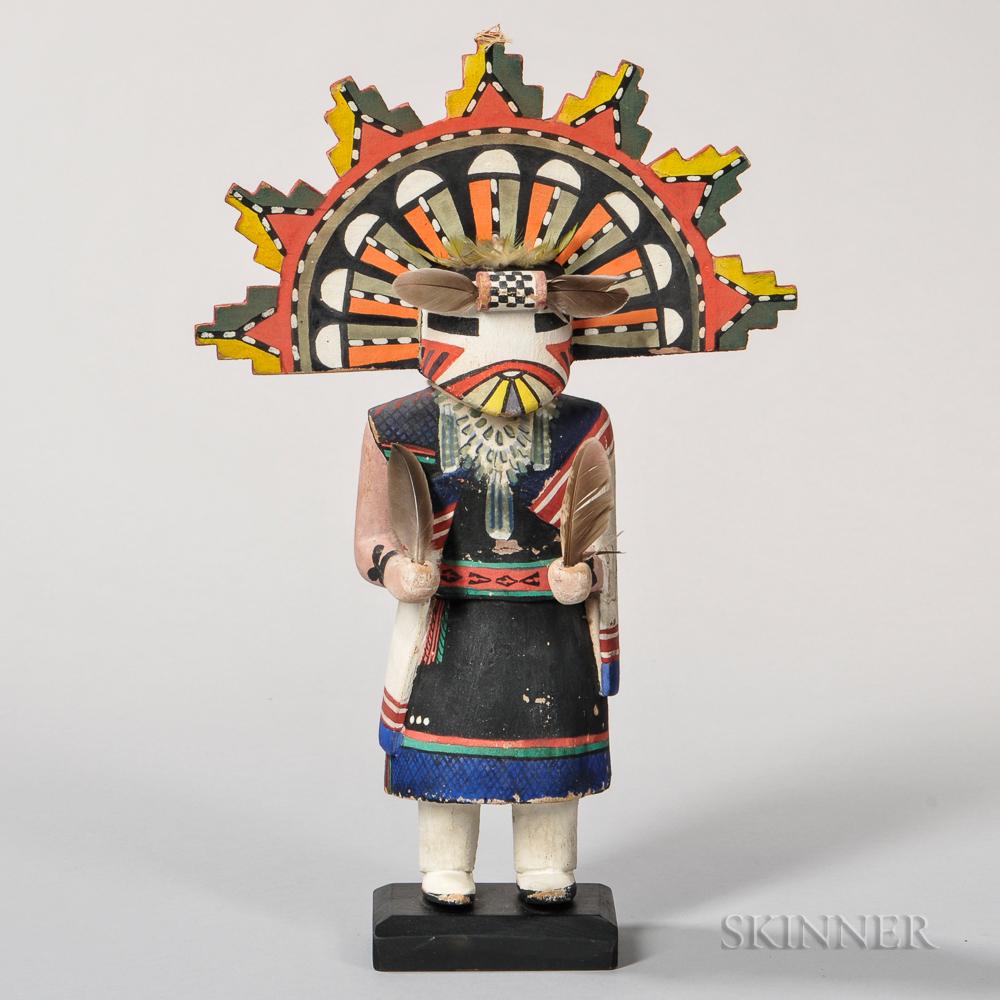Hopi Palhik Mana or Butterfly Maiden Katsina