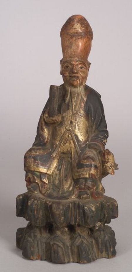 Carved Wooden Deity