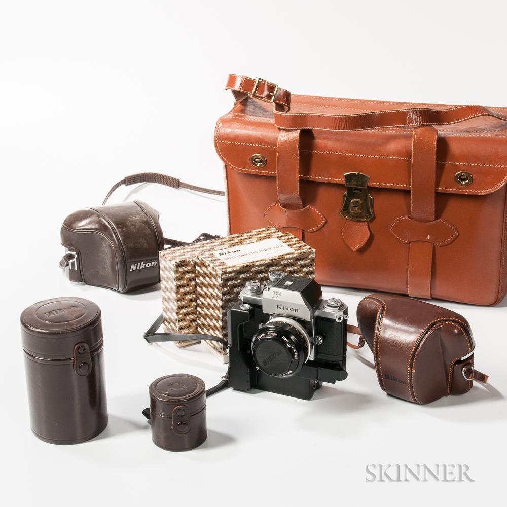 Nikon F Photomic T with Motor Drive