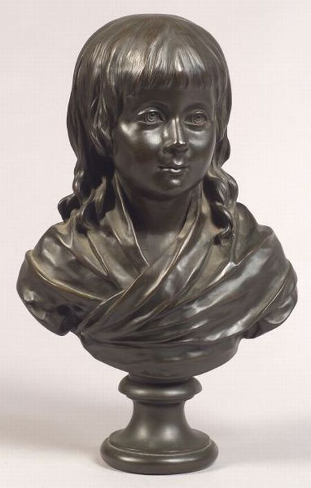 Bronze Bust of a French King as a Boy