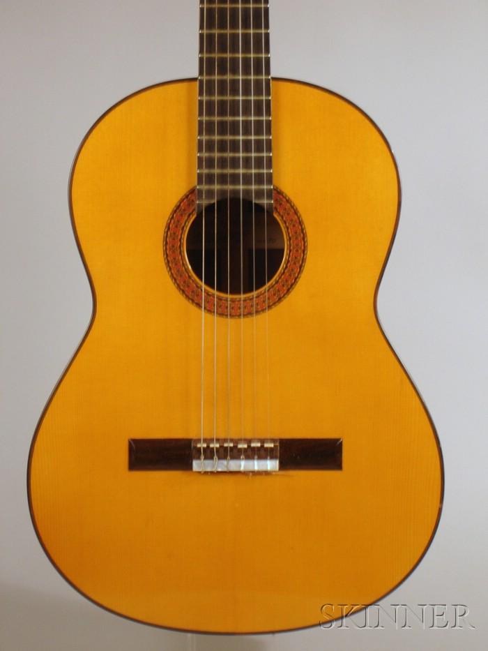 Spanish Classical Classical Guitar, Manuel Rodriguez, Los Angeles, 1967