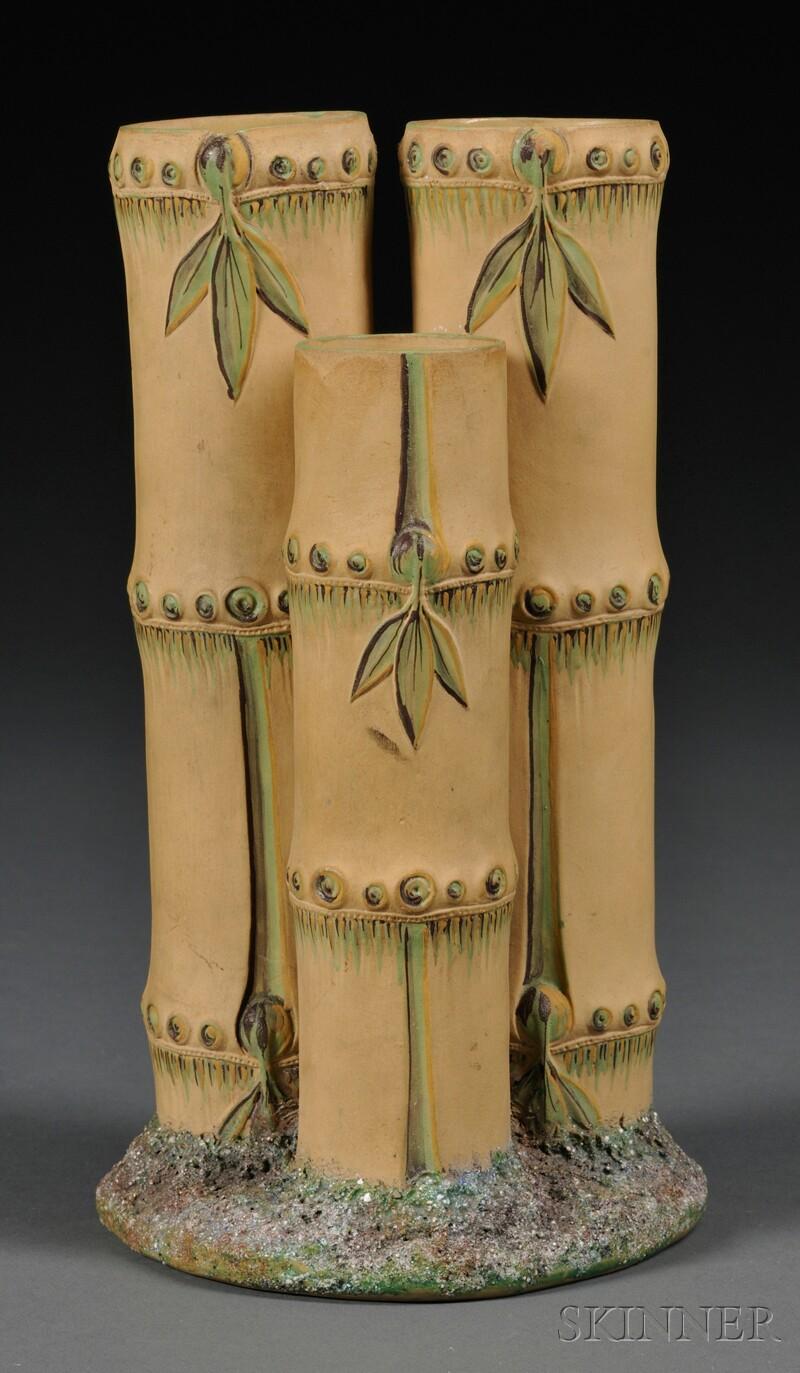 Wedgwood Caneware Bamboo Spill Vase