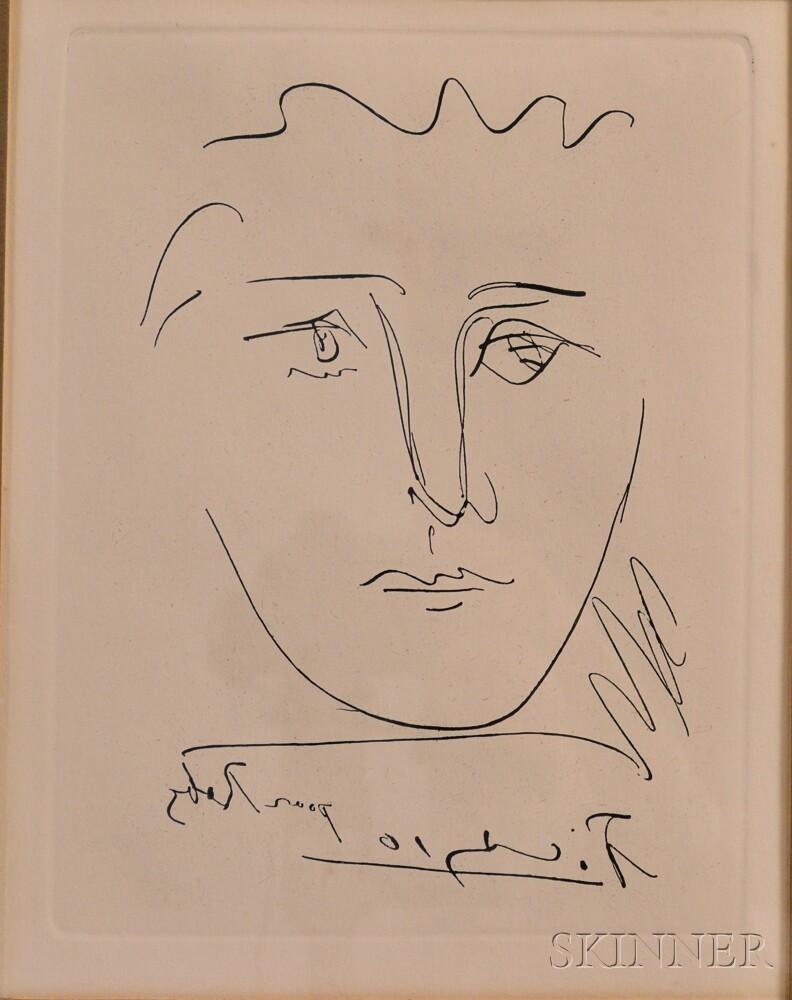 After Pablo Picasso (Spanish, 1881-1973) L\'Age de Soleil (pour Roby ...