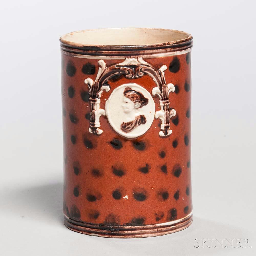 Creamware Half-pint Mug