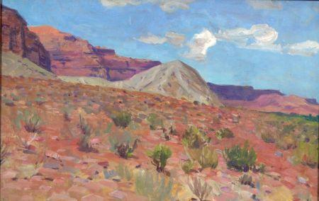 Richard Lorenz (German/American, 1858-1915)    Desert View